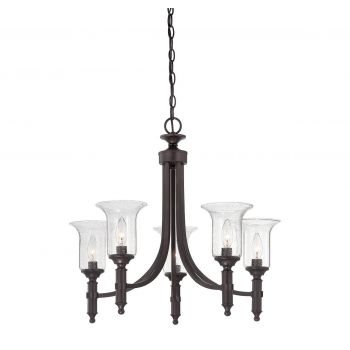 Savoy House Trudy 5-Light Chandelier in English Bronze