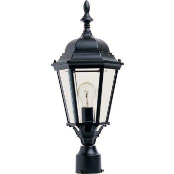 """Maxim Lighting Westlake 22"""" Outdoor Post Mount in Black"""