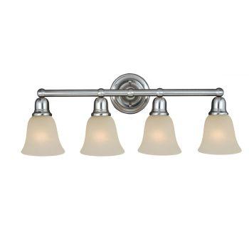 Maxim Lighting Bel Air 4-Light Bath Vanity in Satin Nickel