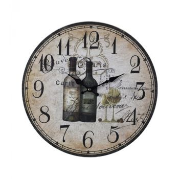 Sterling Industries Wine Bottles Wall Clock