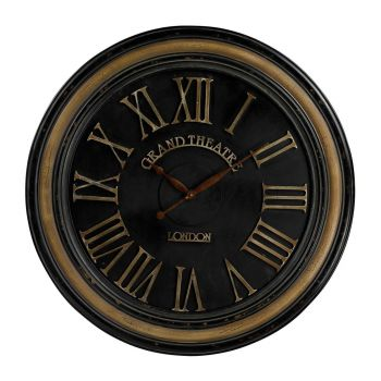 Sterling Industries Large Clock Wth Handpainted Frame