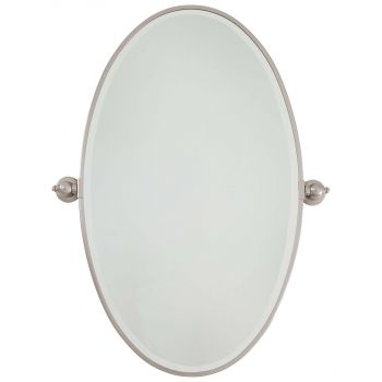 Minka Lavery 1432-84 Oval Mirror in Chrome