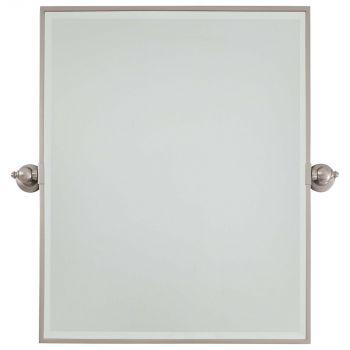 Minka Lavery 1441-84 Rectangle Mirror in Nickel