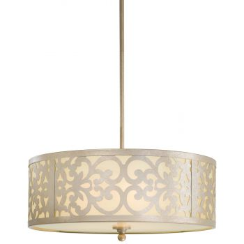 Minka Lavery Nanti 3-Light Chandelier in Champagne