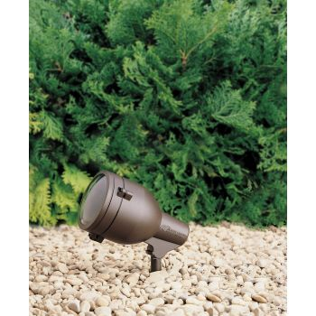 "Kichler HID 9"" 120V Accent in Textured Architectural Bronze"