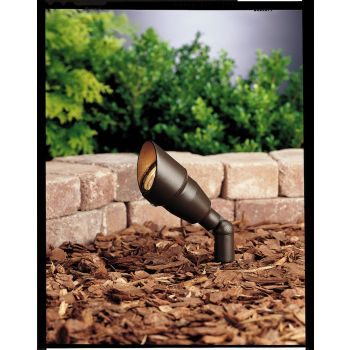 "Kichler Landscape 7.5"" 12V Accent in Textured Architectural Bronze"