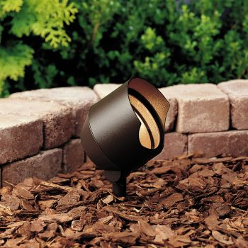 Kichler Landscape 12V Accent in Textured Architectural Bronze
