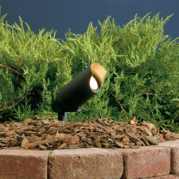 "Kichler Landscape 6"" 12V Accent in Textured Black"