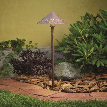 Kichler Landscape Path & Spread in Textured Tannery Bronze