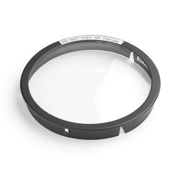 Kichler Landscape Accessory Well Light Lens w/Ring in Black