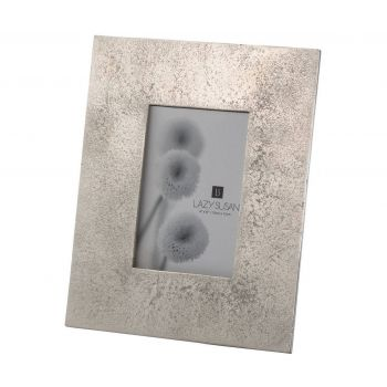 Dimond Home Cement Frame in Silver Finish