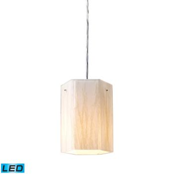 Elk Lighting Modern Organics LED 1-Light Pendant in Polished Chrome