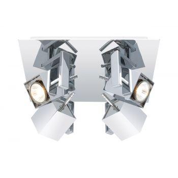 EGLO Manao 4-Light Ceiling Track Light in Chrome