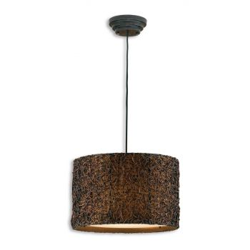 Uttermost Naturals Knotted Rattan Hanging Shade