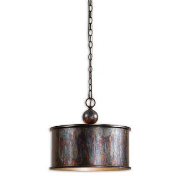 Uttermost Albiano Oxidized Bronze Pendant