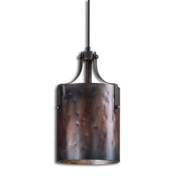 Uttermost Akron Copper Mini Pendant
