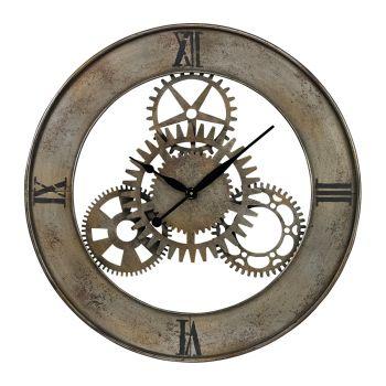 Sterling Industries Industrial Cog Wall Clock