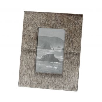 Dimond Home Faux Pony Frame in Gray Finish