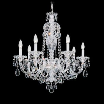 Schonbek Sterling 7 Light Chandelier