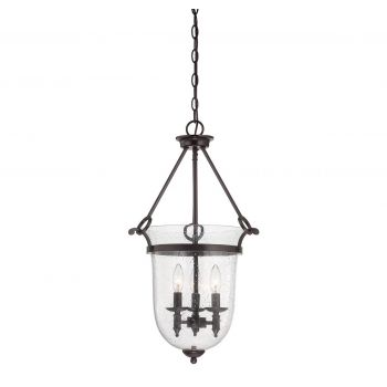Savoy House Trudy 3-Light Foyer in English Bronze
