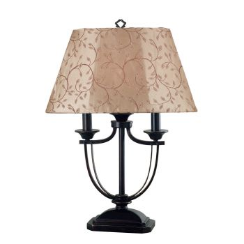 Kenroy Home Belmont Outdoor Table Lamp in Oil Rubbed Bronze