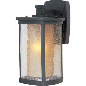 Maxim Lighting Bungalow Outdoor Wall Lantern in Bronze