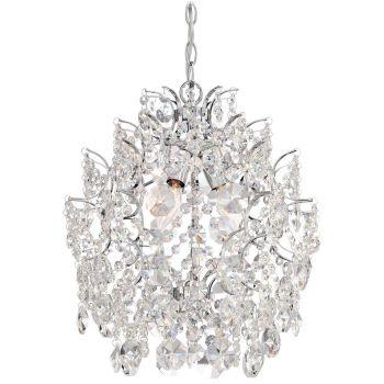 Minka Lavery Isabella's Crown Mini Chandelier in Chrome