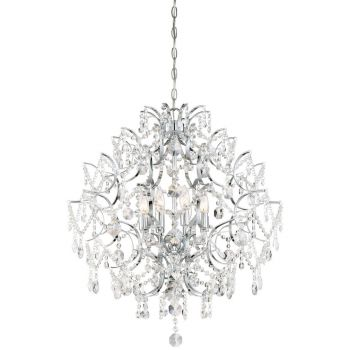 Minka Lavery Isabella's Crown Chandelier in Chrome