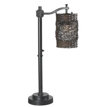Kenroy Home Brent Outdoor Table Lamp in Oil Rubbed Bronze