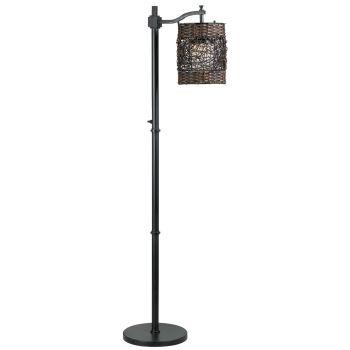 Kenroy Home Brent Outdoor Floor Lamp in Oil Rubbed Bronze