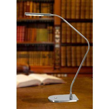 Kenroy Home Bently Desk Lamp in Chrome