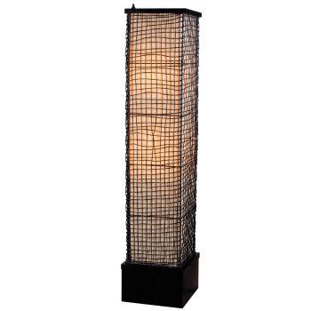 Kenroy Home Trellis Outdoor Floor Lamp in Bronze Finish