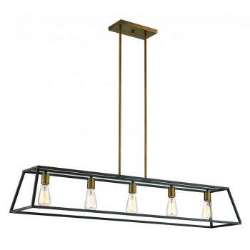 Hinkley Fulton 5-Light Linear Downlight in Bronze