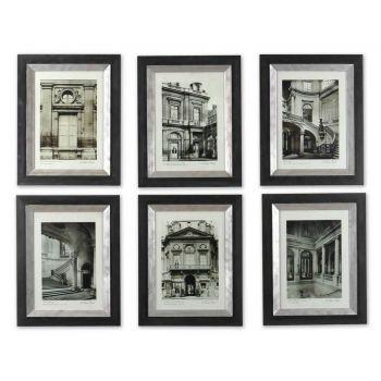 Uttermost Set of 6 Paris Scene Framed Art