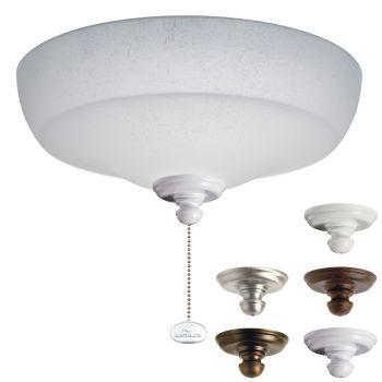 Kichler Fluorescent Large Light Kit in Multiple w/White Linen Glass
