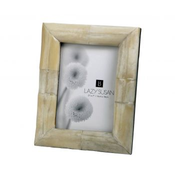 Dimond Home Decorative Bone Frame in White Finish