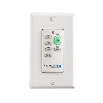 Kichler Fan Accessory Wall Transmitter F-Function in Multiple