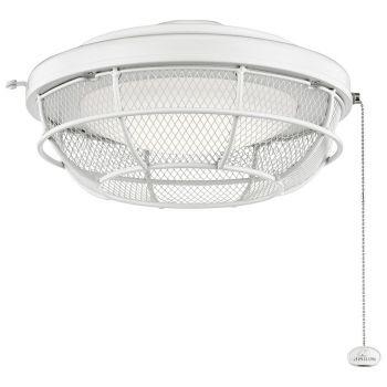 Kichler LED Industrial Mesh Light Kit in Matte White