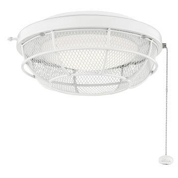 Kichler LED Industrial Mesh Light Kit in White