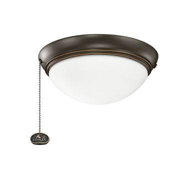 Kichler Accessories Low Profile Ceiling Fan Light Kit in Olde Bronze
