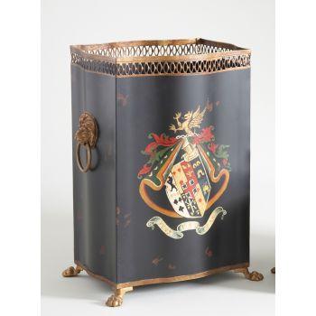 Chelsea House Coat Of Arms Wastebasket