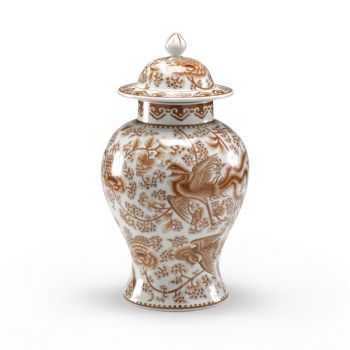 Chelsea House Temple Jar in Nutmeg