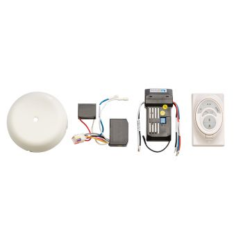 Kichler CoolTouch Ceiling Fan Control System R400 in Sterling Gold
