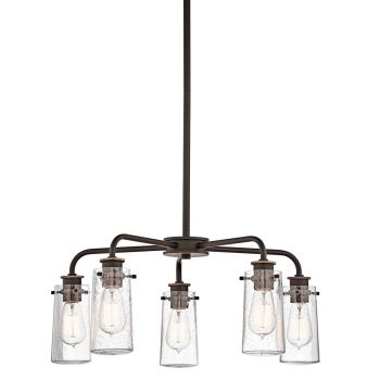 Kichler Braelyn 5-Light Chandelier in Olde Bronze