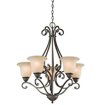 Kichler Camerena 5-Light Medium Chandelier - Olde Bronze