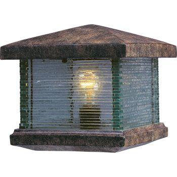 "Maxim Lighting Triumph VX 9.5"" Outdoor Deck Lantern, Copper"