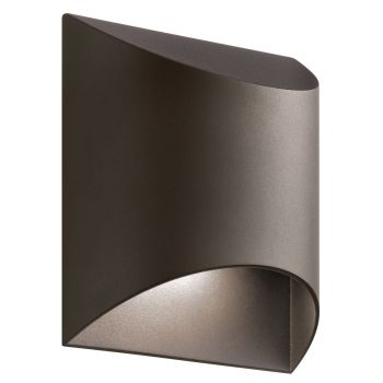 Kichler Wesley LED Small Outdoor Wall in Textured Architectural Bronze