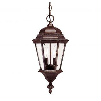 Savoy House Wakefield Outdoor Hanging Lantern in Walnut Patina