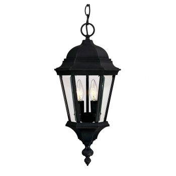 Savoy House Wakefield Outdoor Hanging Lantern in Textured Black