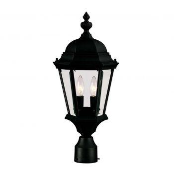 Savoy House Wakefield 2-Light Post Lantern in Textured Black